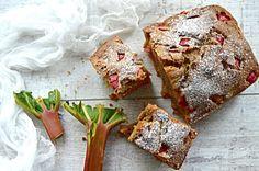 Super proste ciasto z rabarbarem fit   – Dietetyczne przepisy –