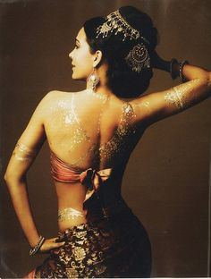 Indian Bollywood dancer costume