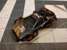 Post your cool gaslands cars & trucks here! Battle reports welcome! Weird Cars, Cool Cars, Invader Zim Characters, Zombie Weapons, Death Race, Tactical Gloves, Custom Hot Wheels, Model Building, Post Apocalyptic