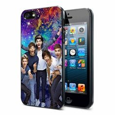 i want this so badly Galaxy iPhone 4 Case | One Direction Galaxy Nebula - iPhone 4/4s case Black/White Case ...
