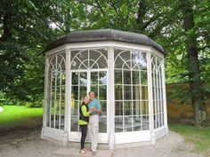 Sound of Music Gazebo Hellbrunn Palace Austria