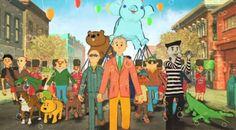 """Bill Murray canta com Paul Shaffer em clipe de animação. Veja o divertido """"Happy Street""""! #Ator, #Band, #Banda, #Bill, #Clipe, #David, #Diretor, #M, #Música, #Musical, #Noticias, #Rock, #Show, #Vídeo, #Youtube http://popzone.tv/2017/03/bill-murray-canta-com-paul-shaffer-em-clipe-de-animacao-veja-o-divertido-happy-street.html"""