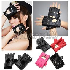 Pink Cool Heart Biker Gloves New Biker Gloves, Motorcycle Gloves, Mitten Gloves, Mittens, Moxxi Cosplay, Part Of Hand, Pink Motorcycle, Leather Material, Dance Dresses