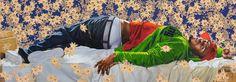 Femme Piquée par un Serpent (2008) - Kehinde Wiley