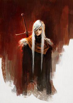 Manon [ArtStation - The White Knight, Alexandre Chaudret]
