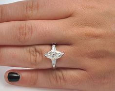 beautiful vintage style engagement ring