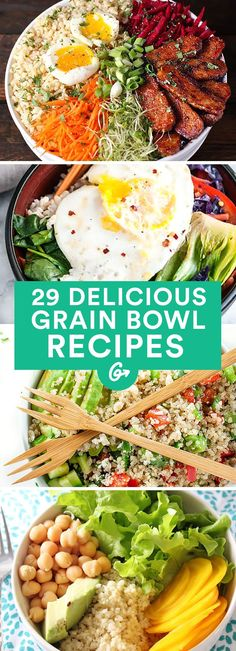 "These recipes are packed with protein, veggies, and amazing flavor. <a class=""pintag searchlink"" data-query=""%23grainbowl"" data-type=""hashtag"" href=""/search/?q=%23grainbowl&rs=hashtag"" rel=""nofollow"" title=""#grainbowl search Pinterest"">#grainbowl</a> <a class=""pintag"" href=""/explore/healthy/"" title=""#healthy explore Pinterest"">#healthy</a> <a class=""pintag"" href=""/explore/recipes/"" title=""#recipes explore Pinterest"">#recipes</a> <a href=""http://greatist.com/eat/grain-bowl-recipes-healthy-dinner-ideas"" rel=""nofollow"" target=""_blank"">greatist.com/...</a>"