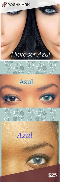 Azul Contacts Azul gorgeous rich blue! Soft and lasts for 12 months with proper care!   Fast shipping!  ✔ DIA: 14.2MM B.C: 8.6MM ✔ Soft comfortable wear, do not SLEEP in them. Other