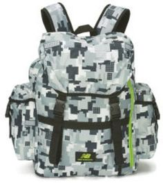 Backpack bag sports accessories #storage solution #silver/grey/lime #camouflage n,  View more on the LINK: http://www.zeppy.io/product/gb/2/282212175998/