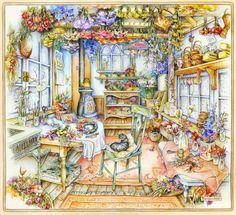 Мир уюта и добра, созданный художницей Kim Jacobs. Часть 1.. Обсуждение на LiveInternet - Российский Сервис Онлайн-Дневников