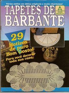 TAPETES DE BARBANTE Nº8 - Lucia Crochê - Álbuns da web do Picasa