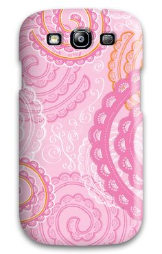Lace Border - Pink