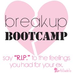 Breakup Bootcamp: Week 1 | GirlsGuideTo