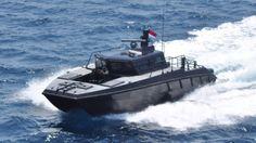 X38 Combat Boat Kopaska by PT. Lundin Industry Invest (NorthSeaBoats), Banyuwangi, Jawa Timur