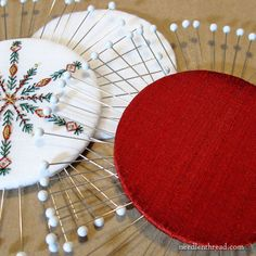 Never Underestimate the Simplest Tools Snowflake Craft, Snowflake Ornaments, Christmas Ornaments, Beaded Embroidery, Embroidery Stitches, Hand Embroidery, Embroidery Ideas, Leather Art, Cool Tools