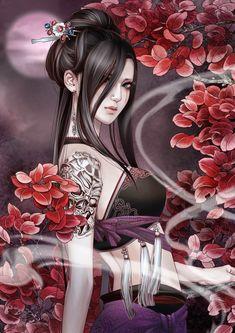 El arte digital de zhang xiao bai parte1