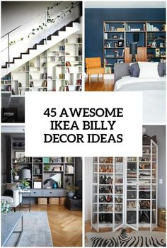 Billy Bookcase Design Ideas Elegant 37 Awesome Ikea Billy Bookcases Ideas for Your Home Digsdigs