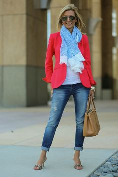 New blog story today herehttp://www.jacketsociety.com/wearing-my-red-theory-blazer-to-see-the-movie-dior-and-i-2/