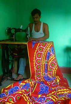 weaving, Orissa, India India (Philippe Guy)