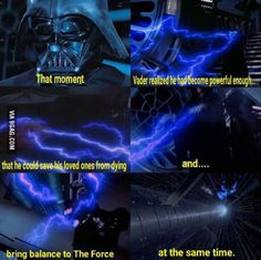 Vader's redemption- Return of The Jedi