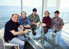 The Beach Boys, 2012: Bruce Johnston, Brian Wilson, Mike Love, Al Jardine, and David Marks