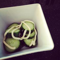 kewpie mayo & cucumber. so simple yet so good.