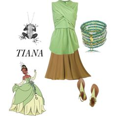 """""""Tiana Casual"""" by xanadu-locey on Polyvore"""