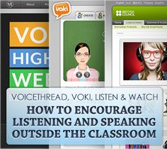 Use Voki to create audio recordings for your students. Have your students create their own Avatars too.   http://www.voki.com/pickup.php?scid=2458916=267=200