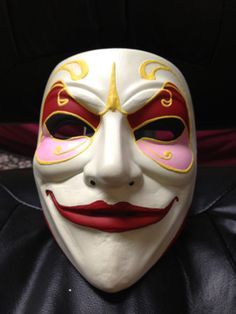 Doctor Who - Clockwork Men Masks using 'V for Vendetta' masks as a base
