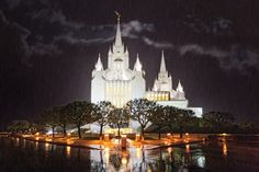 San Diego California Temple - From His Holy House (photographer Robert A. Boyd)