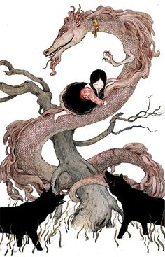 Fairy Tale Art: Fantastic Illustrations by Erin Kelso (Picture Gallery ...