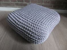 Lounge XXL Knitted Pillow, via Flickr.