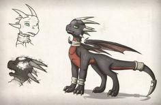 Spyro character, fan art -- cynder - sketches - by slawomiro on deviantART