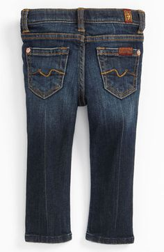 7 For All Mankind® 'Roxanne' Skinny Jeans (Toddler) available at #Nordstrom. Mommy and baby matching jeans!