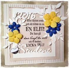 Student 2016 #studentkort #student #student2016 #kort Graduation Day, Presents, Baby Shower, Party, Scrapbooking, Tips, Summer, Inspiration, Students