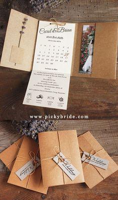Pocket Wedding Invitations, Save The Date Invitations, Wedding Stationery, Wedding Cards, Diy Wedding, Dream Wedding, Wedding Planning, Birthday Cards, Paper Crafts