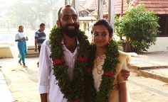 Gauthami Nair gets hitched to Second Show director Srinath Rajendra. - Gauthami Nair gets hitched to Second Show director Srinath Rajendran Wedding Trends, Wedding Styles, Wedding Photos, Kerala Wedding Photography, 2012 Movie, Star Wedding, Young Actresses, Malayalam Actress, Tie The Knots