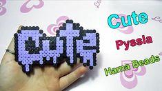 ✿ Charm Cute con Pyssla - Hama Beads Tutorial✿