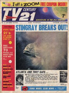 TV Century 21 issue number 21
