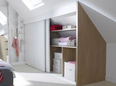 All time best Attic bedroom air conditioning,Attic bathroom ideas and Attic renovation bungalow. Attic Wardrobe, Attic Closet, Attic Playroom, Attic Office, Attic Bedrooms, Upstairs Bedroom, Attic Bathroom, Attic Renovation, Attic Remodel