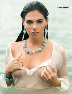 Livia Brito for Hombre Magazine Mexico nude beach