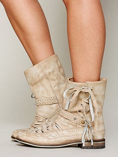 Free People's Chateau Moccasin Boot - These boots make my heart soar!!!!  Love, Love, Love!