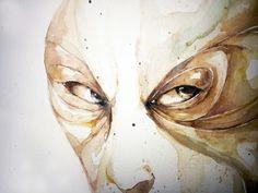 Detail watercolor