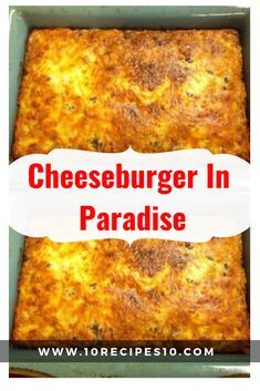Jimmy Buffett, Recipes With 1lb Ground Beef, Casseroles With Ground Beef, Hamburger Meat Recipes Ground, Cooking With Ground Beef, Queso Cheddar, Cheddar Cheese, Biscuits Croustillants, Cheeseburger In Paradise