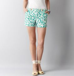 Ikat shorts - love! #springintothedream