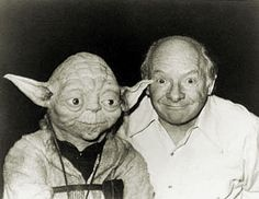 "The creator of Yoda: ""I made Yoda's face based on mine, but with more wrinkles to look wiser"" : )   (Photo of Stuart Freeborn working on Yoda)"