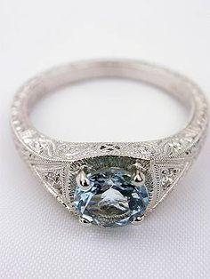 I love vintage rings.