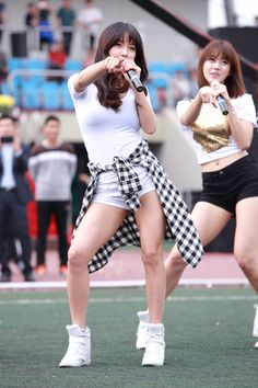 Hyun Young, Kpop Girls, Hipster, Rainbow, Sexy, Athletic, Style, Fashion, Rain Bow