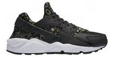 NIB*Nike*Air Huarache Run Sneaker*Black Leopard Print*6 -12 half*Women* | eBay