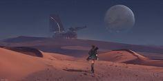 ArtStation - Distant Colony, Marco Gorlei